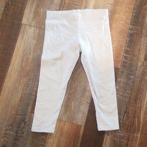 3T white leggings